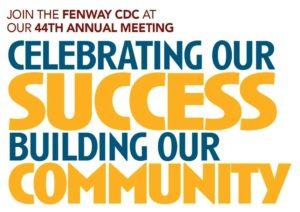Fenway CDC 44th Annual Meeting @ Fenway Health, 9th Floor   Boston   Massachusetts   United States
